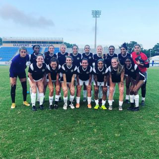 First game in the history of Louisiana FC.  Thanks to @gulf_coast_united_futbol_club for hosting the game.  Final scorer 2-2.  Good feelings for the team.  #louisianasoccer #soccer #womenssoccer #uwoso